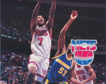 Kenny Anderson New Jersey Nets 1993 Poster