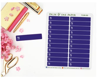 Meal Stickers Perfect for Plum Paper - Plum Paper Stickers - Organization Sticker - Meal Stickers - Dinner Sticker - Food Sticker - PV009