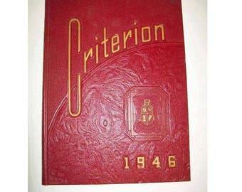 1946 Plum (PA) High School yearbook -- Pittsburgh