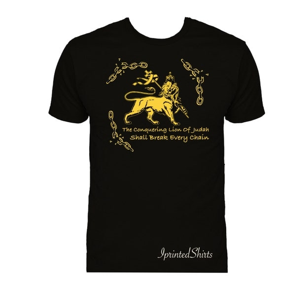 Conquering Lion Of Judah by IPrintedShirts on Etsy Conquering Lion Of Judah