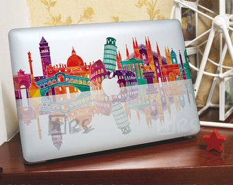 Macbook Decals *~* Countries World Landmarks *~* Macbook Pro Stickers/Mac Decal/Mac Sticker for Apple Laptop/Macbook Pro Air/iPad Air Mini