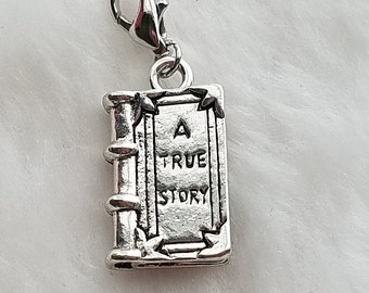 True Story / Book / Reading Charm - Clip-On - Ready to Wear