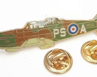 Defiant Aeroplane Side View Pin Badge