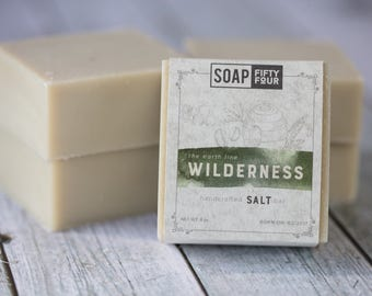 Wilderness Soap Bar | Soap for Men | Manly Soap | Gift for Men | Gift for Him | Gift for Boyfriend | Valentine's Day gift | All Natural Soap