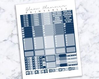 Printable Planner Stickers: 16 (Erin Condren Life Planner PDF)
