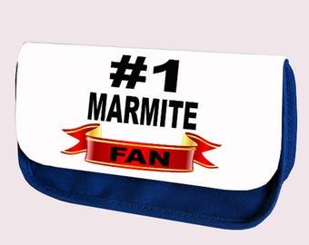NUMBER #1 MARMITE FAN Pencil case / Make-up or clutch bag (Hashtag)
