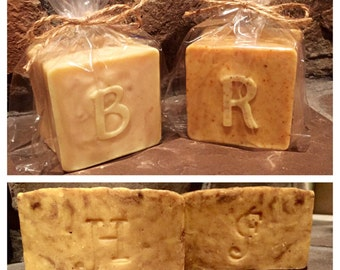 Monogrammed Soaps, Monogram Soaps, Special Order Soaps Initials, Personalized Soaps, Initialed Soaps, Lettered Soaps, Letter Soap, Alphabet