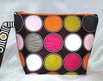 Quirky Southern Small Handbags - Fall Polka Dots