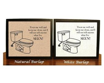 Bathroom Signs Keep Clean keep it clean | etsy