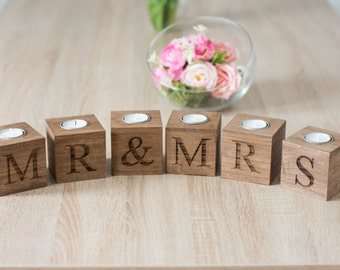 Mr Mrs Table Sign Sweetheart Wedding Table Mr Mrs Letters White Rustic Wedding Table decoration