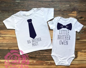 Big Brother Little Brother Shirt Set, Brother Shirt Set, Brother Tees, Big Brother Little Brother Shirts, Big Brother Little Brother Outfits