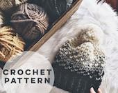 The Nash Hat Crochet Pattern | Crochet Pattern.  Hat. Crochet Hat. DIY Hat Pattern.  Crochet Fair Isle. Craft supply. Mini hearts
