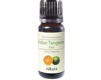 100% Pure Tangerine Indian (Peel) Essential Oil 10ml