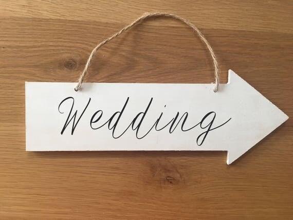 wedding arrow sign wood wedding signs wedding direction signs outdoor sign custom