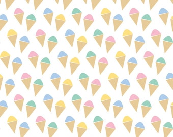 Oh Say Can You Sea in Ice Cream by Jack and Lulu for Dear Stella- 1/2 Yard
