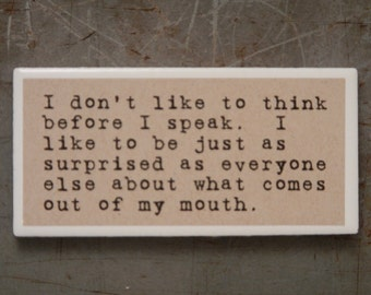 magnet, Funny Magnet, Refrigerator magnet, Sarcastic gift, small gift, gift for friend, funny gift, gifts under 5, stocking stuffer, 84
