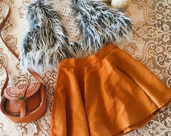 Ahhmaazing Faux fur vest that is a must for your winter collection
