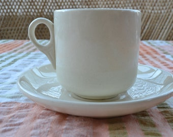 Vintage cup and saucer Wembley Ware Grindley Hotelware