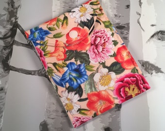 Lipgloss purse, lipgloss bag, mini purse, cosmetics bag, floral makeup bag