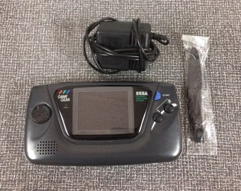 Awesome Nostalgic Tech DIY Creative Upcycling Project! Dead Sega Game Gear With Original AC Adaptor And Original Wrist Strap- Perfect To Mod