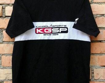 Rare!!! Vintage Kangol Sport Tee Shirt