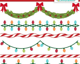 Deck the Halls Banners n Borders SVG Cutting Files & Clipart Set BF019 - Includes Limited Commercial Use!