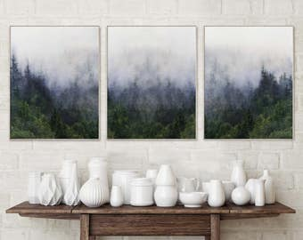 Forest Print Wall Art Set Nature Photography Prints Giclee Art Print Wall Art Prints Wall Art Large Giclee Large Prints Nature Prints Print