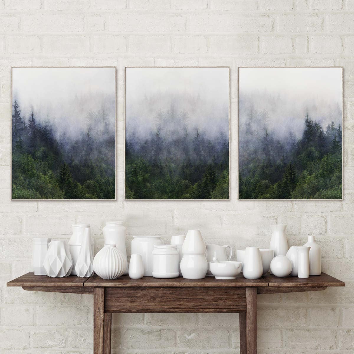 Amazing Details. Forest Print Wall Art ... Part 31