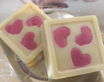 RAW Valentine Solid Lotion Bar ALL Natural