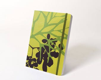 Blank Hardcover Journal with Elastic Closure