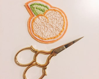 Peach Patch Hand Embroidery Embroidered Flair Needlework Gifts For Her Gifts For Teens