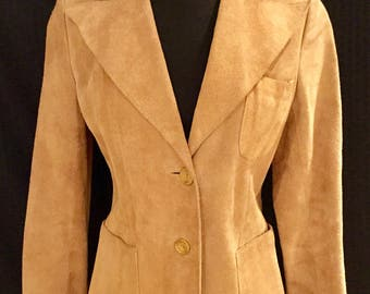 Saks Fifth Avenue: young dimensions suede suit