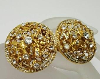 BIJOUX CASCIO Clear Stone Earrings