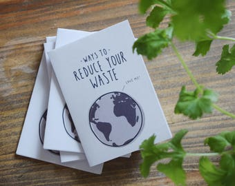 Ways To Reduce Your Waste - Zine