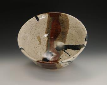 Large Handmade Stoneware Serving Bowl Ready to Ship