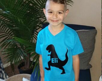 T Rex, dinosaur custome shirt