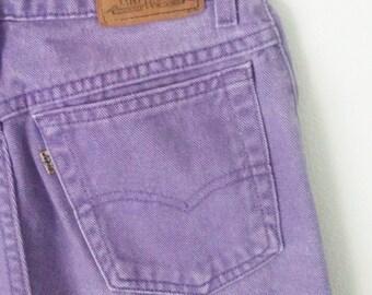 SALE// Vintage 90's Highwaisted Lavender Levis