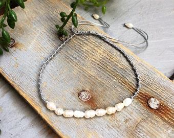 Pearls bracelet link