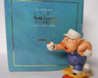 1993 Walt Disney Classics Collection Three Little Pigs-Work and Play Don't Mix