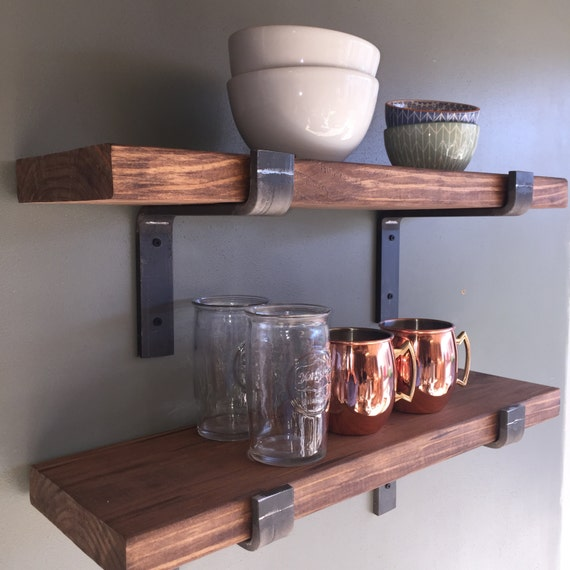 10 Depth Fixer Upper Style Floating Shelves By