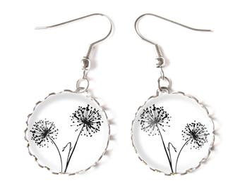 Dandelions earrings