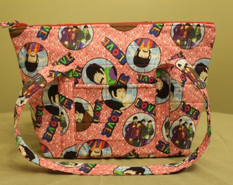 Retro Beetles Purse