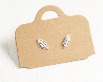 Feather Earrings ~ Silver/Gold/RoseGold
