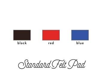 Standard Felt Ink Pad