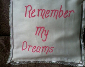 Dream Pillow (Remember My Dreams)