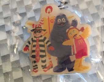 Ronald McDonald and the gang, lapel pin