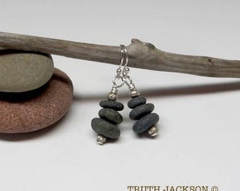Three Beach Pebbles
