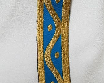 BotW Zelda cosplay - embroidery band for bodice