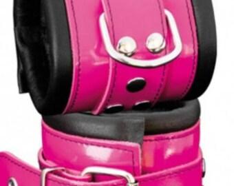 Wrist cuffs Pink high Qualitiy,