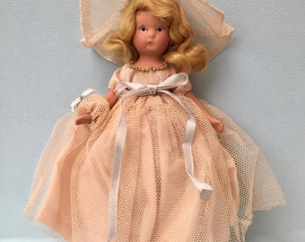 Darling Vintage H&K Bisque Hollywood Doll Bisque Bride's Maid Doll